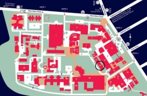 King's Buildings campus map
