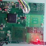 Li-Fi Front-End Platform. A custom designed platform on a single PCB