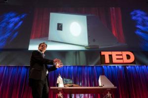 Haas speaking at TED Global 2015 London